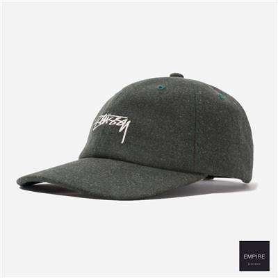 STUSSY SUITING LOW PRO CAP - Green