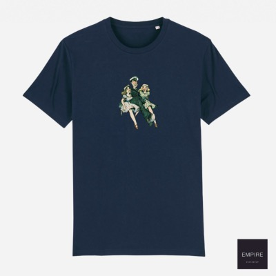 THE LOOSE COMPANY SAILOR TEE - Navy