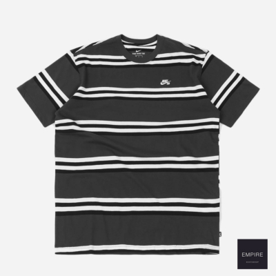 NIKE SB YD STRIPE TEE DARK SMOKE