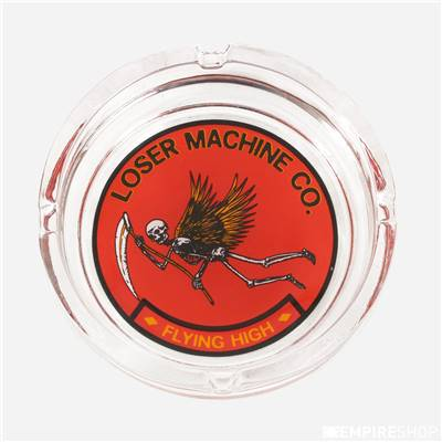 LOSER MACHINE COMPANY FLYING HIGH ASH TRAY - Clear