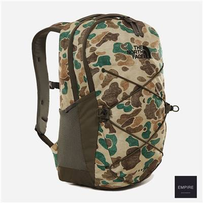THE NORTH FACE JESTER - Hawthorn Khaki Duck Camo print New Taupe Green