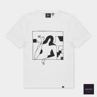 PARRA LOCKDOWN T-SHIRT - White