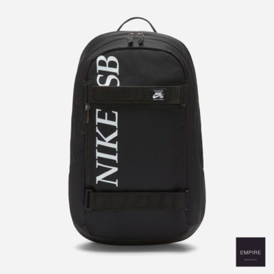 NIKE SB COURTHOUSE LOGO BACKPACK - Black Black White