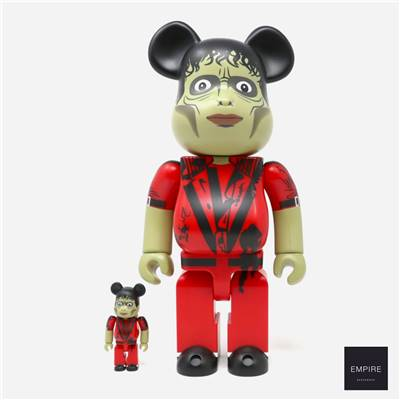 MEDICOM TOY BE@RBRICK 400 - MICHAEL JACKSON THRILLER ZOMBIE 2-PACK
