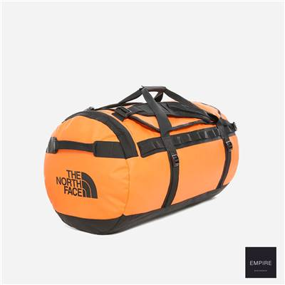 THE NORTH FACE DUFFEL BASE CAMP SMALL - Persian Orange TNF Black