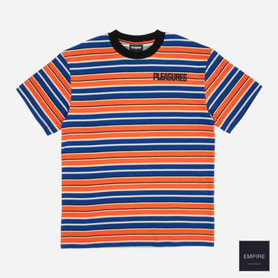 PLEASURES OUTLIER SHORT SLEEVE SHIRT - Blue