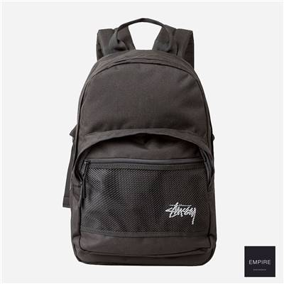 STUSSY STOCK BACKPACK - Black