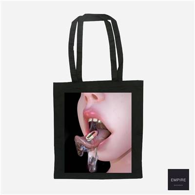 PLEASURE MEDECINE TOTE BAG - Black