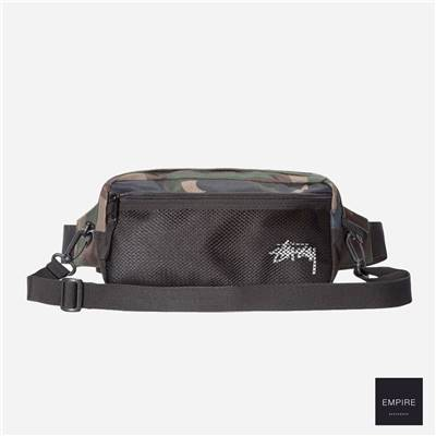 STUSSY STOCK SIDE BAG - Camo