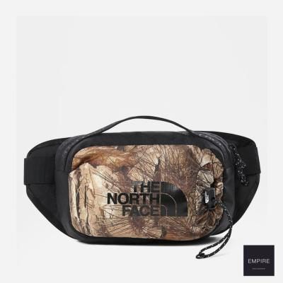 THE NORTH FACE BOZER HIP PACK III L - Kelp Tan Forest Floor Print Tnf Black