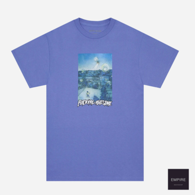 FUCKING AWESOME HELICOPTER TEE - Violet