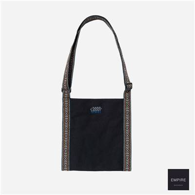 STUSSY TRIAL WEBBING BAG - Black