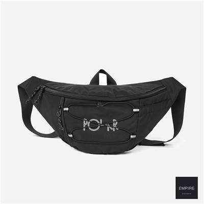 POLAR SPORT HIP BAG - Black