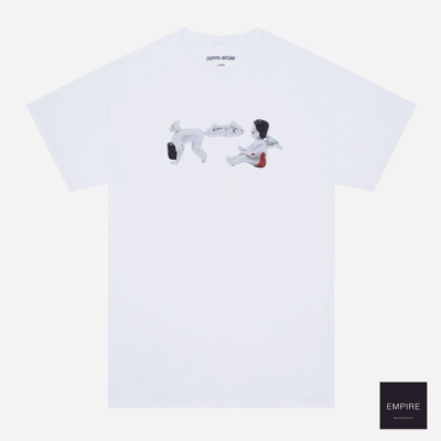 FUCKING AWESOME CHERUB FART TEE - White