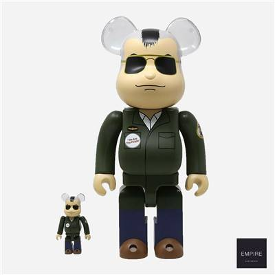 MEDICOM TOY BE@RBRICK 400 - TAXI DRIVER TRAVIS BICKLE 2-PACK